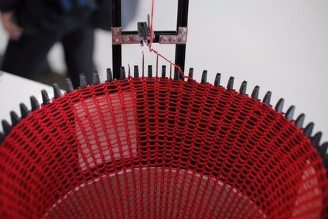 Automated knitting machine made with #3D printing and #Arduino #ArtTuesday | Raspberry Pi | Scoop.it