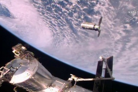 La capsule Cygnus est arrivée à la Station spatiale internationale | The Blog's Revue by OlivierSC | Scoop.it