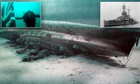 Battleship wrecked by Germans during Second World War remembered | second world war | Scoop.it