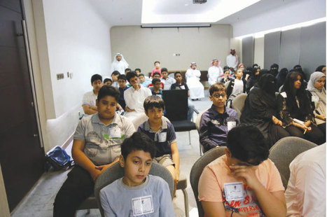 Initiative launched in Eastern Province to discover potentials of talented students - Saudi Gazette | It's time we refocus on G&T children | Scoop.it