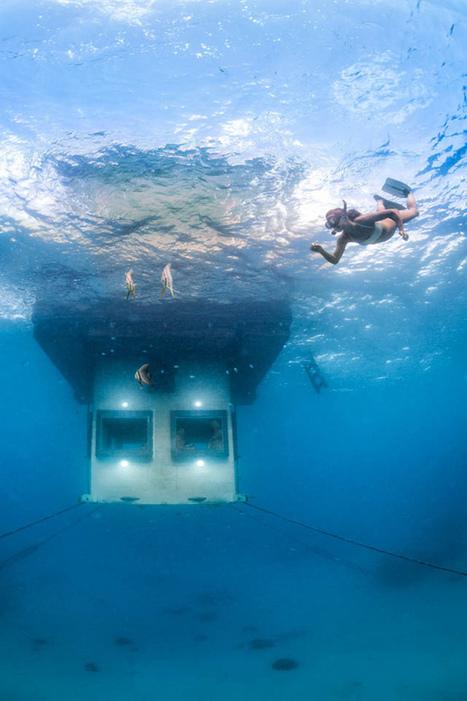 漂浮旅館!感受海中一夜的奇幻漂流 | 生活童話 - 讀創意 & 買創意 - 生活  都該有個童話 | 建築 | Scoop.it