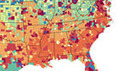Healthcare visualisation maps disease prevalence across America | Big, Big Data | Scoop.it