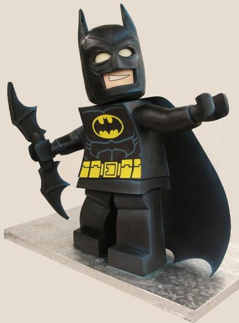 Amazing 3-Foot Tall LEGO Batman Cake | All Geeks | Scoop.it