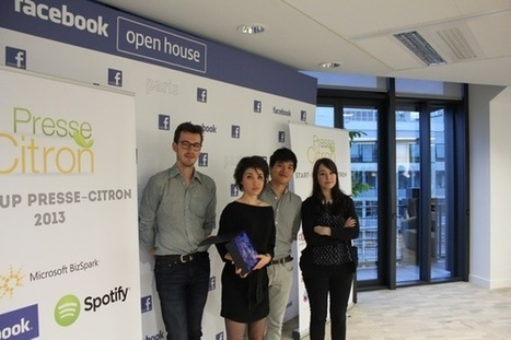 Dataveyes remporte le trophée Startup Presse-citron 2013 | I love Startups | Scoop.it