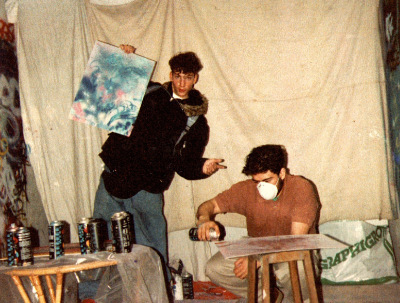 Back in the days // Malakoff,1991 | The art of Tarek | Scoop.it