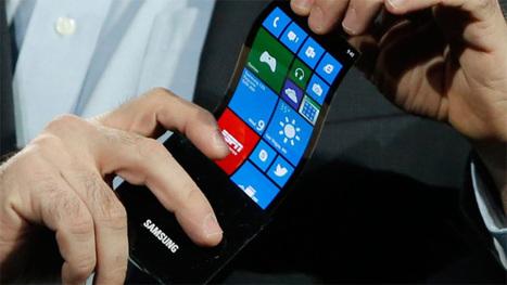 Samsung va lancer un smartphone à écran pliable | Veille smartphone | Scoop.it