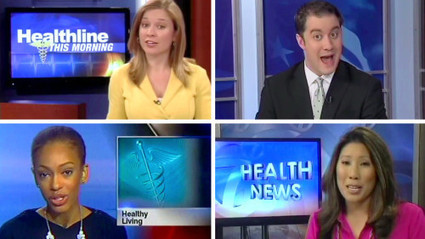 Newscasters Agree: Don't Worry, Be Happy Edition | Journalism Schmournalism | Scoop.it