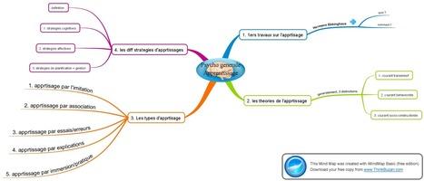 Reussite Etudes | Le Mindmapping ou la méthode qui donne envie d'apprendre (ses cours) ! (partie 1/2) | E-learning et Moodle | Scoop.it