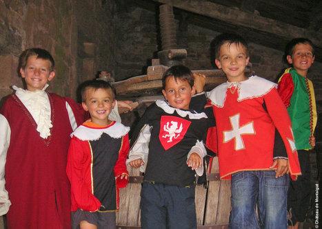 Le château de Montaigut pour les enfants | L'info tourisme en Aveyron | Scoop.it