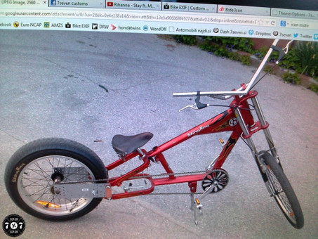 custom lowrider bicycle   77C bicycles   Scoop.it
