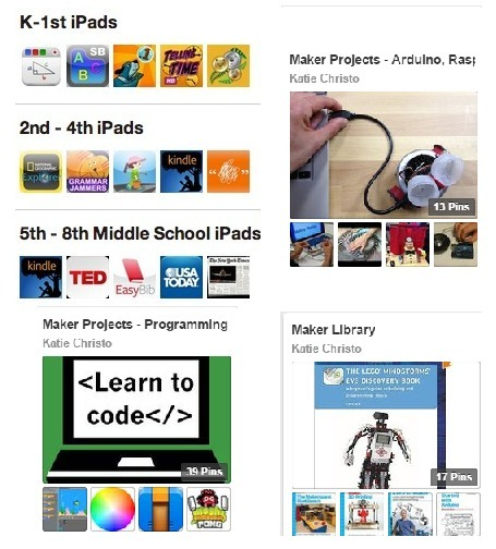 Fantastic  iPad App and MakerEd Pinterest Collection by Katie Christo | iPads, MakerEd and More  in Education | Scoop.it