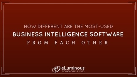 How different are the most-used Business Intelligence software from each other?   PHP development Company   Scoop.it