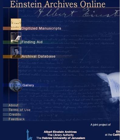 Albert Einstein Online Archive is Available Now | NOLA Ed Tech | Scoop.it