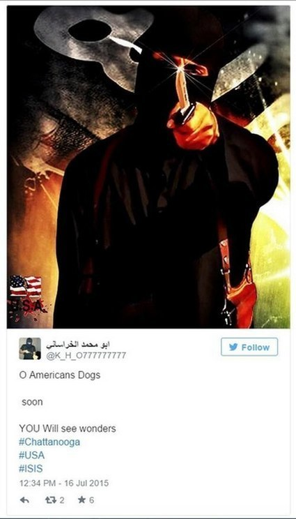 Chattanooga Shooting: ISIS Twitter Account Takes Credit For Deadly Attack, Authorities Calling It Terrorism | Social Media | Scoop.it