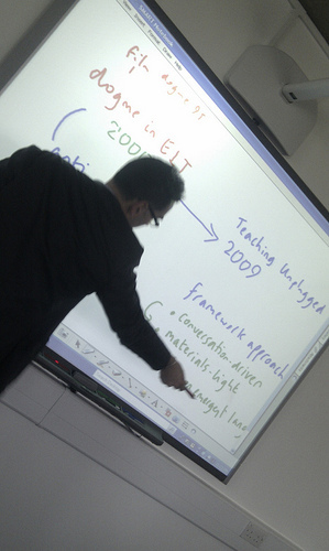 Looking back on 2011...Dogme ELT & Interactive Whiteboards | blog-efl | technology in language teaching | Scoop.it