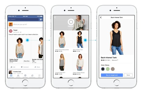 Facebook is diving full-force into shopping | Social Media | Scoop.it