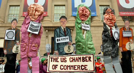 Daily Kos: Chamber of Commerce vows to become 'significantly ... | Chamber Advocate | Scoop.it