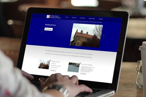 Web Design for R. Milner Roofing - OPD Design Agency | The importance of digital media in today's business | Scoop.it