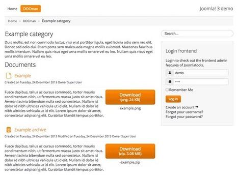 DOCman 2 gets a responsive design | CMS, joomla, wordpress | Scoop.it