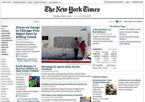 The slow death of the homepage | giornalismo e new media | Scoop.it
