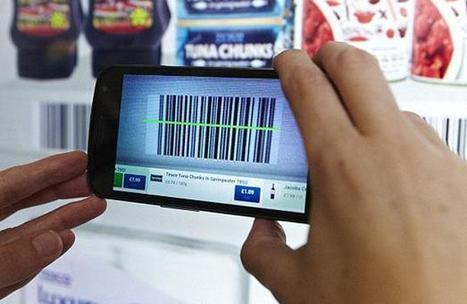 Un supermarché virtuel a ouvert à l'aéroport de Gatwick à Londres | QR code news | Scoop.it