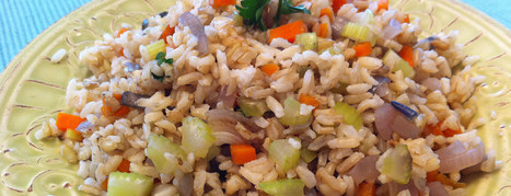 "Tom's ""Fried"" Rice - Plant-Based Vegan Recipe 