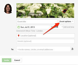 GPlus How2Girl: Create Clickable Links In Your Google Events | GooglePlus Expertise | Scoop.it