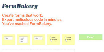 FormBakery: Créer des formulaires pour son blogue facilement   manually by oAnth - from its scoop.it contacts   Scoop.it
