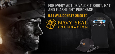 """""""Act of Valor"""" donations from 5.11 Tactical Gear...get in on this one! 