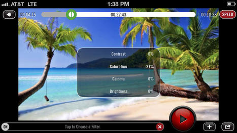App Shopper: Video Filters - Photo Effects and Pro 24P Camera (Photography) | iPhoneography-Today | Scoop.it