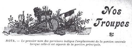 L'organisation de l'Armée française avant la 1re Guerre Mondiale - Lycée Anguier - Mémoire des soldats de ma commune   Nos Racines   Scoop.it
