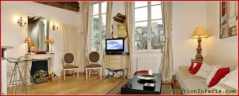 Luxury Two Bedroom Holiday Apartment Rental on Place Dauphine In Paris | Vacation In Paris | Scoop.it