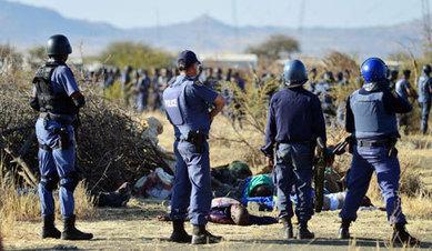 Commission: Police lied about Marikana - City Press | Lawfare: Marikana | Scoop.it