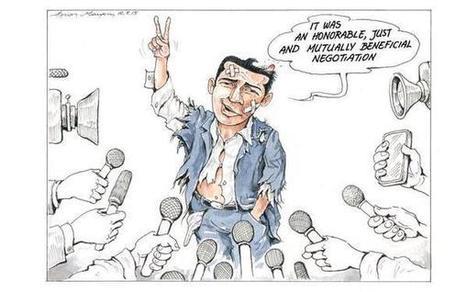 Dans tous les cas, la Grèce doit se préparer à l'exit/ Alexis Tsipras aurait sollicité Vladimir Poutine pour aider la Grèce à imprimer des drachmes/Comment Sarkozy a «aidé» la Grèce   Econopoli   Scoop.it