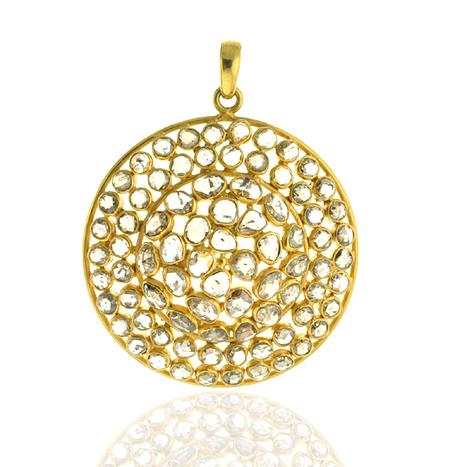 Diamond Disc Pendant | Wholesale Jewelry | GemcoDesigns | Pave Diamond Bracelets | Diamond Jewelry | GemcoDesigns | Scoop.it