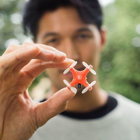 Skeye Pico Drone : le plus petit drone au monde - H+ Magazine | Innovations, Technologies, Geekeries et Autres | Scoop.it