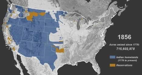 Mapped history of how Native American land was taken | US History | Scoop.it