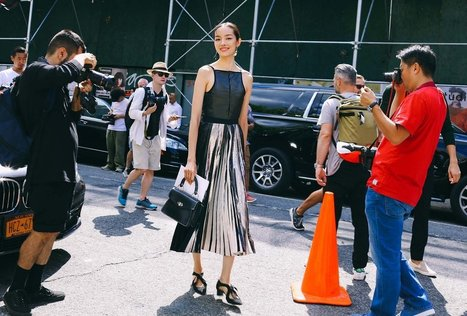 Favorite Street Style Look From New York Fashion Week » Celebrity Fashion, Outfit Trends And Beauty News | Celebrities | Scoop.it