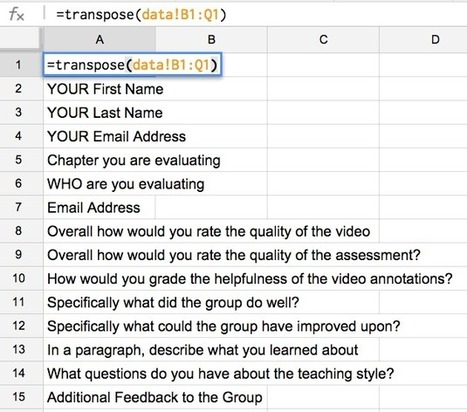 Using Mail Merge from a Google Form | BHS Ed Tech | Scoop.it