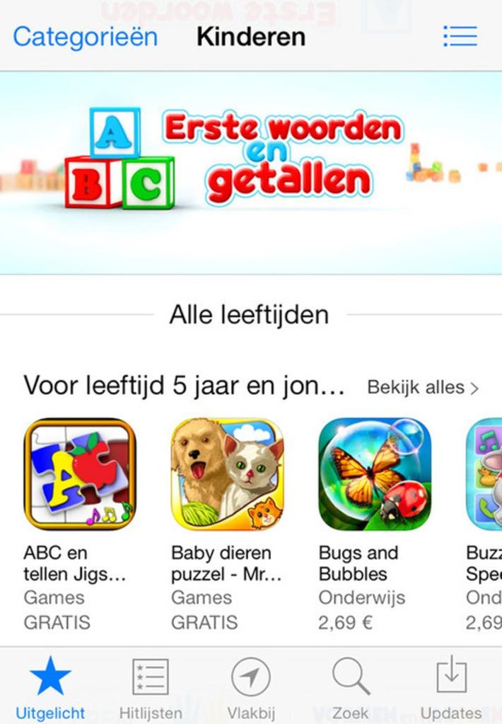 Categorie met apps voor Kinderen toegevoegd aan App Store Apple | Apps voor kinderen | Scoop.it