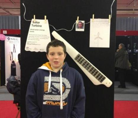 Uma turbina solar, a invenção óbvia que só um rapaz de 11 anos desenvolveu | ProAmbiente | Scoop.it