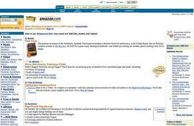 How 20 popular websites looked when they launched - Telegraph | Websites - ecommerce | Scoop.it