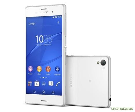 Así es el Sony Xperia Z3 | Androideas | Scoop.it
