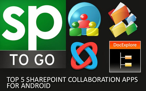 Top 5 SharePoint Collaboration Apps for Android | SharePoint 2013 Mobile Development | Scoop.it