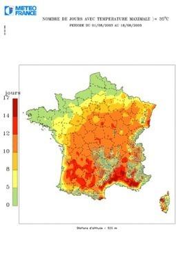 Pourquoi et comment les canicules vont se multiplier - Libération | La technologie, la météorologie et la climatologie | Scoop.it