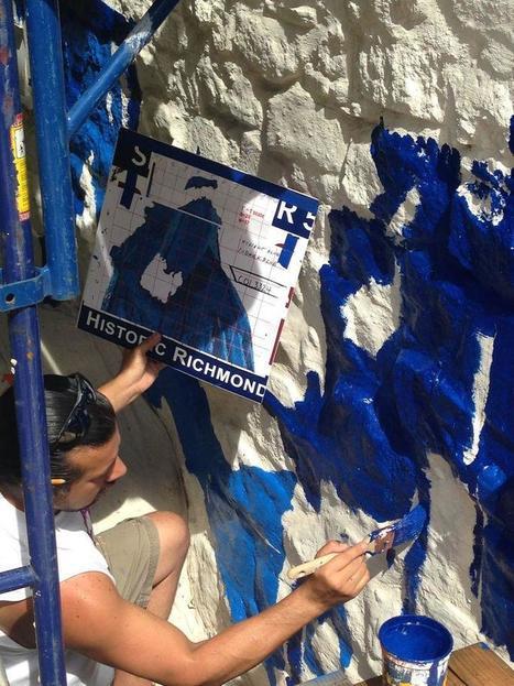 Des fresques murales pour sauver des maisons ancestrales | Immobilier | Scoop.it