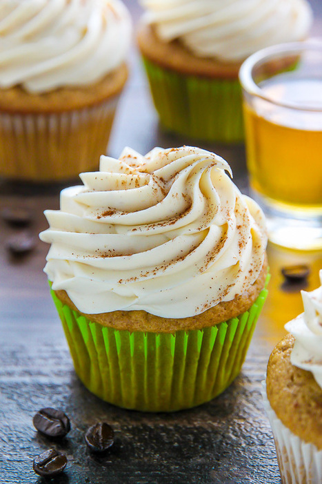 Irish Coffee Cupcakes - Baker by Nature | Passion for Cooking | Scoop.it