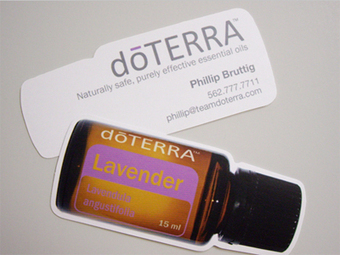 Business Card for: doTerra | The Best of Business Card Design | What Is The Significance Of Customized Calendars? | Scoop.it
