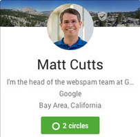 Google's Matt Cutts: +1s Don't Improve Rankings | transerfing&EN | Scoop.it
