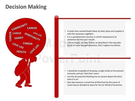 Effective Decision Making: Editable PowerPoint Slide | PowerPoint Presentation Tools and Resources | Scoop.it